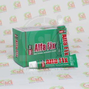 آلفا فیکس - چسب آکواریوم آلفا فیکس